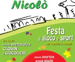 Ciao Nicolò – Festa di Gioco e Sport