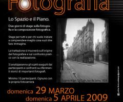 Stage di Fotografia – Lo spazio e il piano