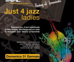 Just 4 Jazz ladies – Swing al femminile