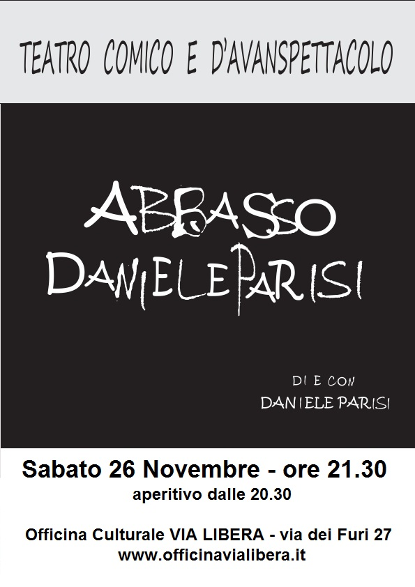 """ABBASSO DANIELE PARISI"".."
