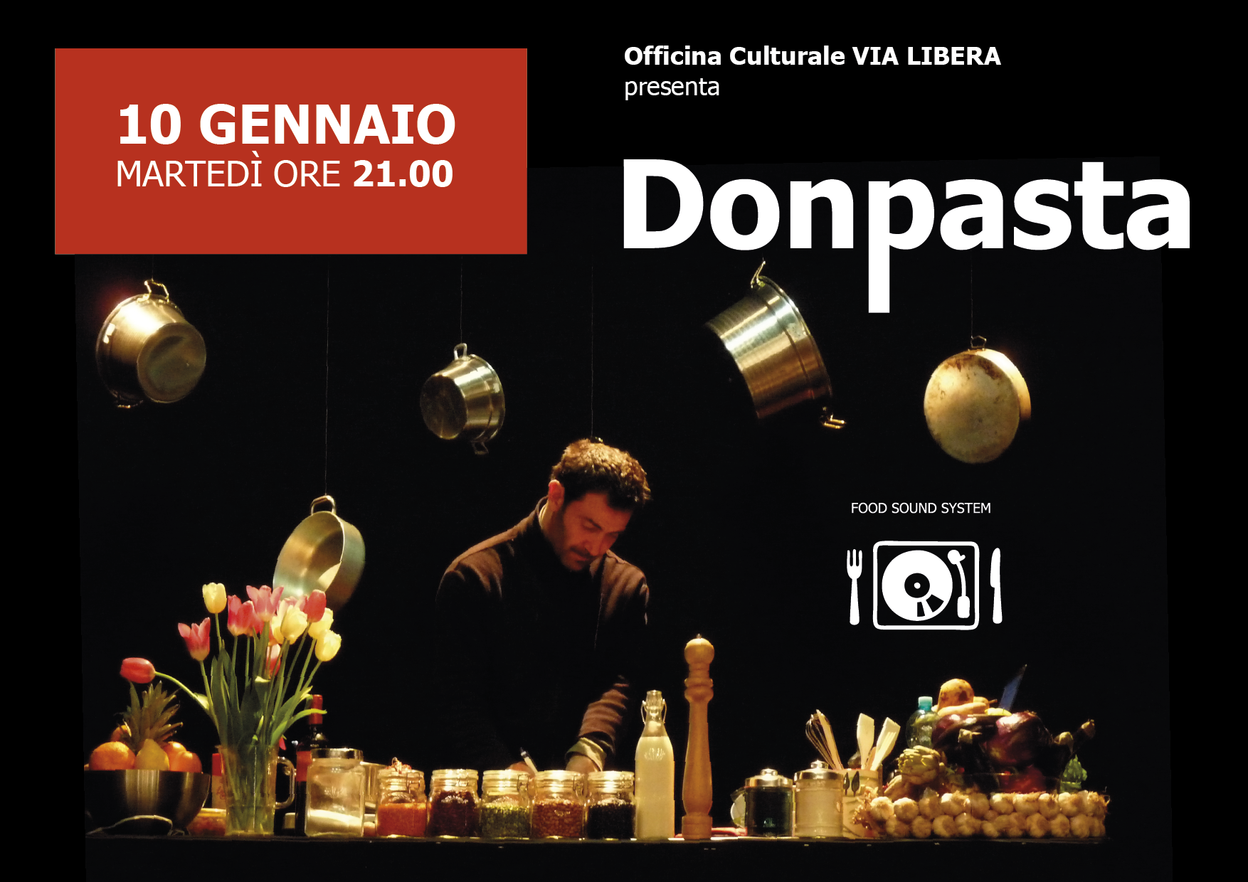 Donpasta..food sound system