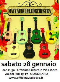 Ukuleles for Peace sabato 28
