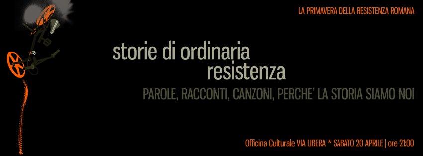 Storie di ordinaria Resistenza