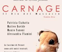 13-15 DICEMBRE 2013 – CARNAGE- spettacolo teatrale