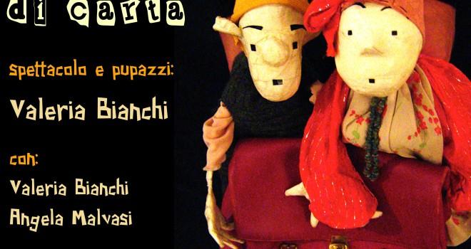 Sabato 22 febbraio 2014 ore 17.00 NONSO E NONSA pupazzi di carta… spettacolo imperdibile per bambini e adulti