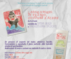 GIOCHIAMO AL TEATRO – Laboratorio di Teatro Costumi e Scene per bambini 4-8 anni