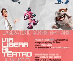 VLAT JUNIOR  Via Libera Al Teatro per bambini 8-11 anni