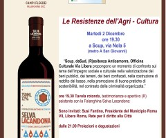 Le Resistenze dell'agri-cultura –  a SCUP in Via Nola 5 – METRO A San Giovanni