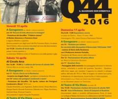PROGRAMMA COMPLETO Q44 dal 15 al 18 aprile