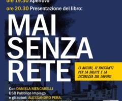 VENERDI' 20 MAGGIO – MAI SENZA RETE reading e presentazione libro