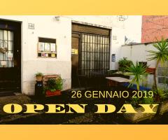 OPEN DAY 26 GENNAIO 2019