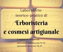 Laboratorio teorico-pratico di erboristeria e cosmesi artigianale – dal 23/10/2019